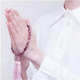 数珠の持ち方 各宗派共通数珠片手数珠