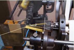 撚り糸から撚り房を作る