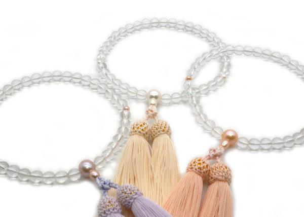 天然水晶&淡水真珠