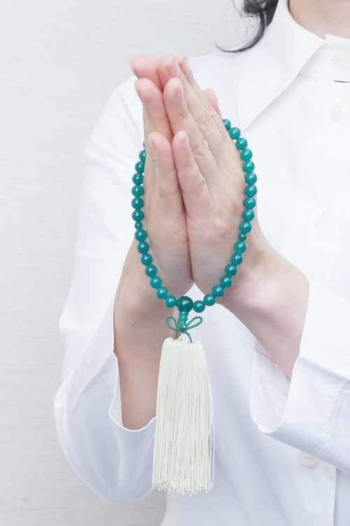 山田念珠堂数珠の持ち方浄土真宗