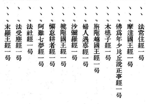 数珠の歴史(3)木槵子経と校量数珠功徳経