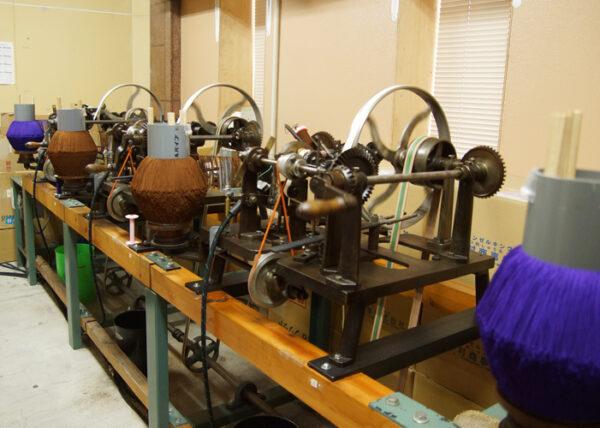 山田和義 数珠の話(6)社内工房での撚り房の製作