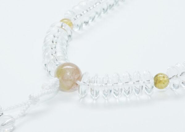 数珠の歴史(10) 平安王朝・姫君と公達(きんだち)の数珠② あてなる水晶の数珠