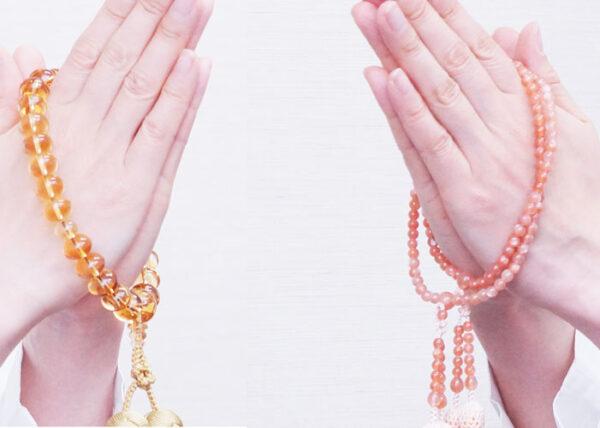 数珠の選び方 9. 本連数珠(ほんれんじゅず)と片手数珠とは何ですか