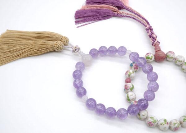 数珠の選び方 13.男性用の数珠と女性用の数珠の違いって何ですか?